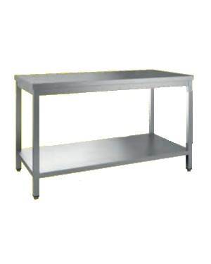 Table centrale avec étagère