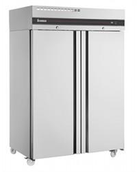Armoire GN2/1 - Froid ventilé -2 à + 08°C - 1432 L - 2 portes pleines - 1440x868x2100 mm - 880 W - 230 V mono - Sur roulettes