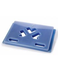 Plaque surgelé Cargo 500 bleu