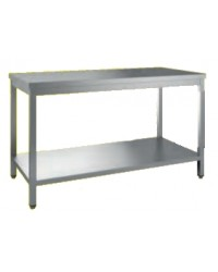 TABLE ADOSSEE 1600X700X850/900 AVEC